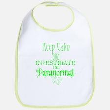 Keep Calm: Paranormal Bib