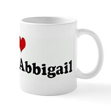 I Love Eric and Abbigail Mug