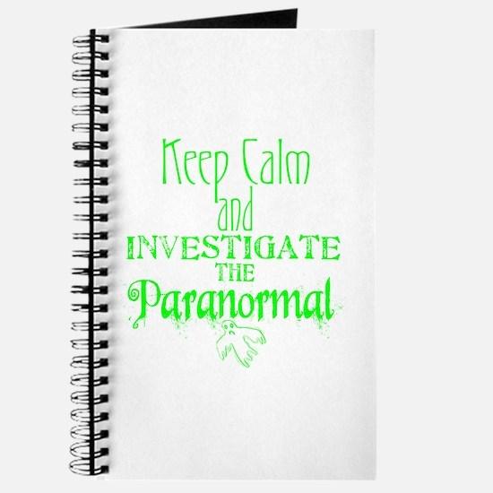 Keep Calm: Paranormal Journal