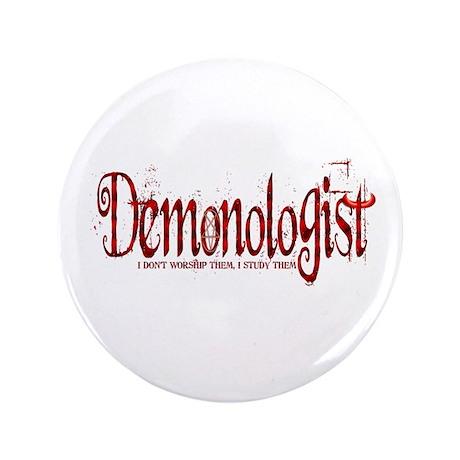 "Demonologist 3.5"" Button"