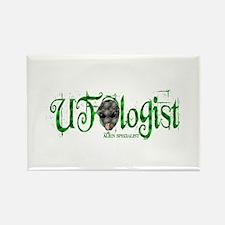 UFOlogist Rectangle Magnet