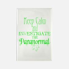 Keep Calm: Paranormal Rectangle Magnet
