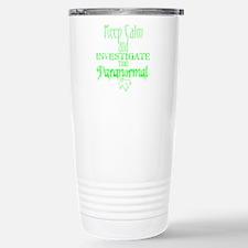 Keep Calm: Paranormal Stainless Steel Travel Mug