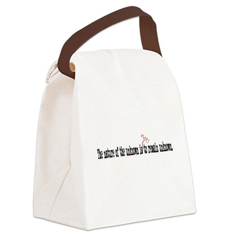 Nature of the Unknown Canvas Lunch Bag