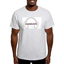 Earmuffs Ash Grey T-Shirt