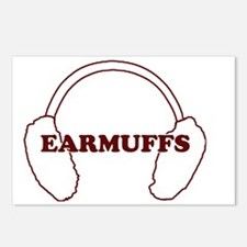 Earmuffs Postcards (Package of 8)