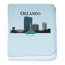 Orlando baby blanket