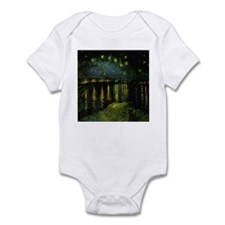 Digitally remastered Starry N Infant Bodysuit