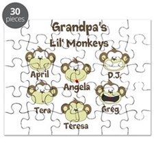 Custom kids monkeys Puzzle