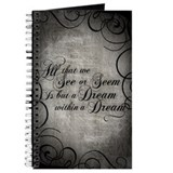 Allan edgar poe Journals & Spiral Notebooks