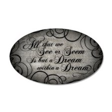 Dream Within A Dream Wall Decal