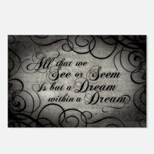 Dream Within A Dream Postcards (Package of 8)