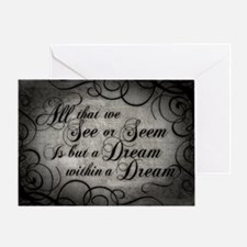 Dream Within A Dream Greeting Card