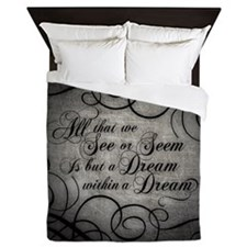 Dream Within A Dream Queen Duvet