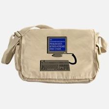 PEBKAC - ID10T Error Messenger Bag