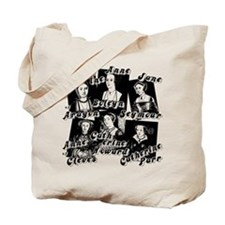 Wives Of Henry The Eighth Tote Bag