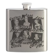 Wives Of Henry The Eighth Flask