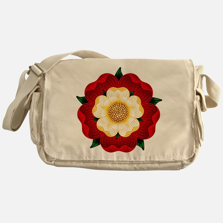 Tudor Rose Messenger Bag