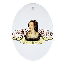Anne Boleyn Ornament (Oval)