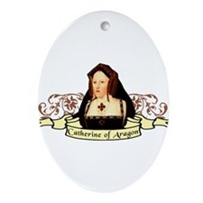Catherine Of Aragon Ornament (Oval)