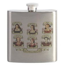 Fates Of Henry VIII Wives Flask