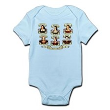 Fates Of Henry VIII Wives Infant Bodysuit