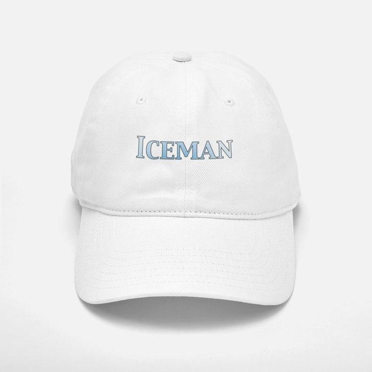 Iceman Baseball Baseball Cap