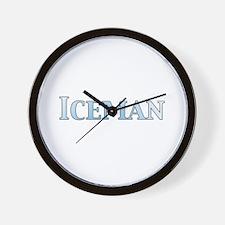 Iceman Wall Clock