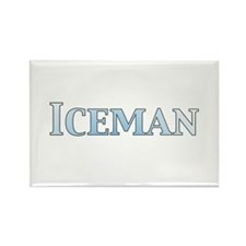 Iceman Rectangle Magnet