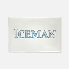Iceman Rectangle Magnet