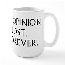 Darcy My Good Opinion Mug