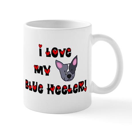Love Blue Heeler Mug