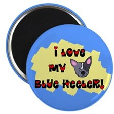 Love Blue Heeler Magnet