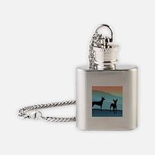 Blue Mountain Xolo Flask Necklace