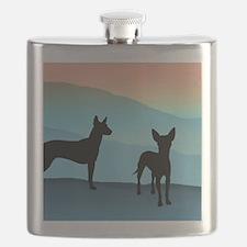 Blue Mountain Xolo Flask