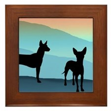 Blue Mountain Xolo Framed Tile