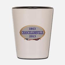 150th Chancellorsville Shot Glass