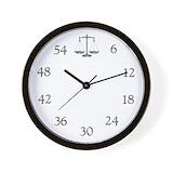 Attorney Wall Clocks