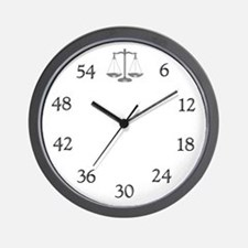 Lawyer's Wall Clock