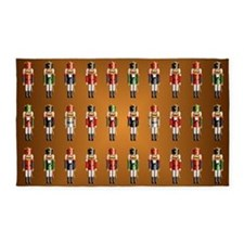 Nutty Nutcrackers Area Rug