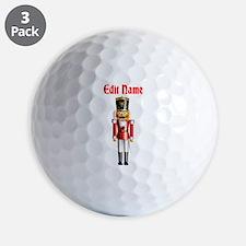 Nutcracker Golf Ball