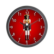 Nutcrackers Wall Clock