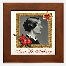 Susan B. Anthony Framed Tile