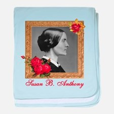 Susan B. Anthony baby blanket