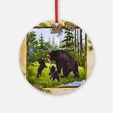 Best Seller Bear Ornament (Round)