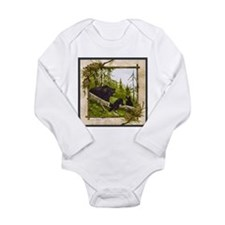 Best Seller Bear Long Sleeve Infant Bodysuit