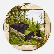 Best Seller Bear Round Car Magnet