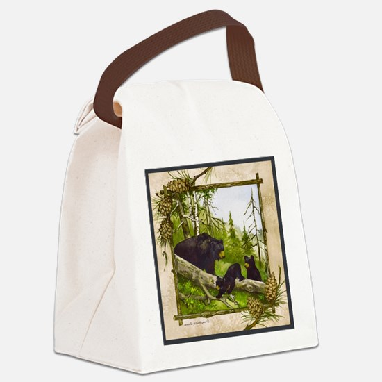 Best Seller Bear Canvas Lunch Bag