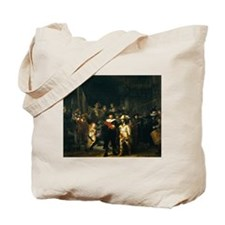 Rembrandt Night Watch Tote Bag