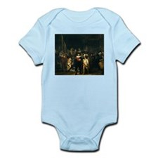 Rembrandt Night Watch Infant Bodysuit